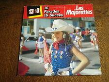 33 tours 13+3 16 parades 16 succes les majorettes