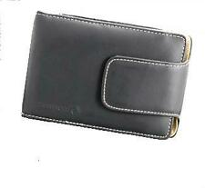 TOMTOM ORIGINAL ONE LEATHER CARRY CASE BLACK ELEGANCE AND PROTECTION
