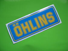 OHLINS suspension Sticker/decal x 2