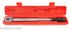 1/2 inch Click Torque Wrench TEKTON 24335 10-150-Feet/Pound with storage case