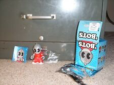 """Bots Kid Robot Crowbar Red 3"""" comes with box, foil, booklet, and figure"""