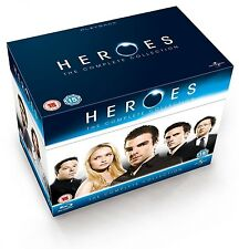 Heroes the Complete Series Blu Ray [Blu-ray] Box Set Collection - USA SELLER