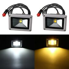 10W 12V LED Flood Spot Light Work Lamp with Car Charger Waterproof For Camping T
