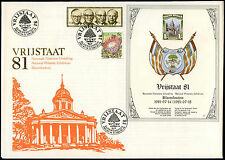 South Africa 1981 Vrijstaat Philatelic Exh. Sheet Special Event Cover #V2606