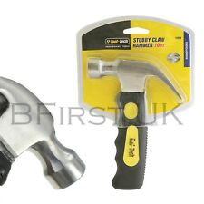 10oz Stubby Small Mini Magnetic Claw Hammer DIY Tool Mallet Head Rubber Grip