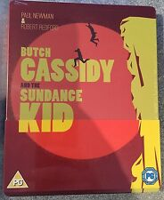 Butch Cassidy And The Sundance Kid Steelbook - Limited Edition Blu-Ray Region 0