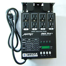 American 4 channel Matrix PRO DJ dimmer pack DMX output dmx-4 4 ch