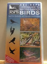 BBC RSPB VIDEOGUIDE TO BRITSH GARDEN BIRDS - VHS VIDEO