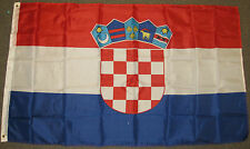 3X5 CROATIA FLAG CROATIAN NEW EUROPE EU BANNER NEW F099