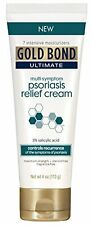 6 Pack Gold Bond Ultimate Multi-Symptom Psoriasis Relief Cream 4.0 oz Each
