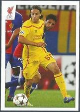 PANINI LIVERPOOL STICKER-2014/15- #152-LAZAR MARKOVIC ON THE BALL