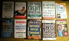 Lot of 10 Non-Fiction, Softcover Books ~ Selling, Credit Repair, Consulting, etc