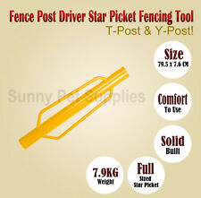 Y-Posts Driver Post Rammer Driver Fence star picket hand picket Fencing Tools