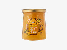 Kakao Talk Friends Character RYAN Korean Yuzu / Honey Citron Tea Official Goods