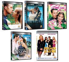 5 Different DVD Boxsets Spanish TELENOVELAS New Factory Sealed, Novelas 12 DVD's