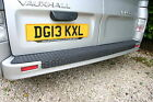 "VAUXHALL VIVARO REAR BUMPER PROTECTOR ""OVER THE EDGE"" DESIGN UP TO 2013"