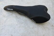 VELO  CARBON TITANIUM SUPER LIGHT ROAD RACING TRACK FIXIE SEAT SADDLE