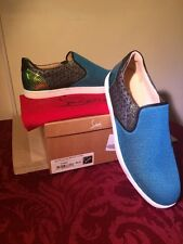 NIB Men's Christian Louboutin Sailor Flat Tec size UE 44.5 US 10.5