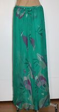 MAXI SKIRT NEW WILLOW AND CLAY FLORAL PRINT CHIFFON MAXI SKIRT NEW SMALL