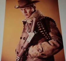 STEVE MCQUEEN / WANTED: DEAD OR ALIVE /  8 X 10  COLOR  PHOTO