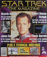ROBERT DUNCAN McNEIL January 2000 STAR TREK The Magazine RICARDO DELGADO