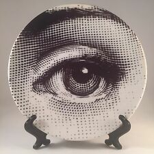 "Reproduction Lina Cavalieri Fornasetti Style 8"" Plate Tableware Wall Hanging"