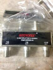 Antronix 3-way Coaxial Splitter Signal CMC2003H Cable HDTV Case Of 15