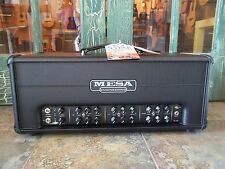 Mesa Boogie  TC-50 Triple Crown Guitar Amplifier Head Black w/Footswitch & Cover