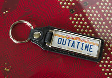 Back To The Future (OUTATIME) Medallion Keyring