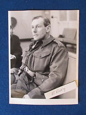 "Original Press Photo - 8""x6"" - Major General Richard Carver - 1964"