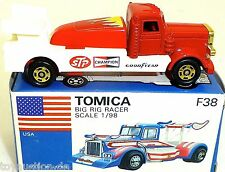 Big Big Racer USA STP Campione Goodyear Tomica F38 Made in Giappone 1:98 å
