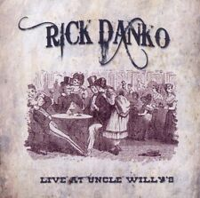 Rick Danko- Live at Uncle Willy's 1989, CD Neu