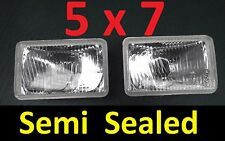 2x 5x7 Semi Sealed Lights Toyota MR2 Supra Surf Townace