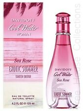 COOL WATER SEA ROSE EXOTIC SUMMER BY DAVIDOFF EDT PERFUME FOR WOMEN 100ML
