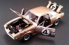 ACME 1967 CHEVROLET GOLD CAMARO #4 FIRST Z/28 EVER MADE DIECAST RACE CAR GMP