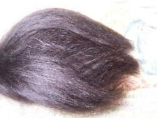 StRaiGhT DaRk BrOwN 1/4 oz MoHaiR ~ REBORN DOLL SUPPLIES