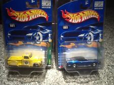 2002 Hot Wheels Limited Edition Treasure Hunts 1-12