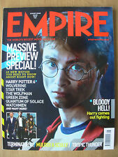 EMPIRE FILM MAGAZINE No 230 AUGUST 2008 HARRY POTTER AND THE HALF-BLOOD PRINCE