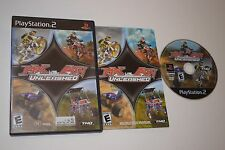 MX vs. ATV Unleashed Sony Playstation 2 PS2 Video Game Complete