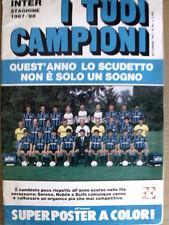 Poster MAXI Inter 1987-88 - Collana I Tuoi Campioni - 63x90 cm [GS3]-29