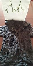 Ted baker chunky hand knit cardi