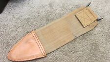 US WW1 1910 Springfield Bolo Trench Knife CANVAS SCABBARD COVER 1918 DATE UNUSED