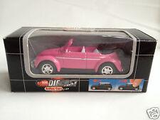 Dickie 1:60 scale VW Beetle Käfer Convertible - pink