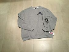 FBI academy  sweat shirt ,ash  gray blue embroidery large,crew neck,