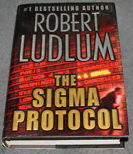 The Sigma Protocol by Robert Ludlum (2001, Hardcover, Revised)