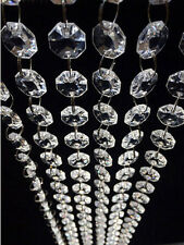 33Ft  DIy Clear Acrylic Crystal Bead Garland Chandelier Hanging Wedding Supplies