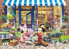 Tenyo Japan Jigsaw Puzzle DW-1000-393 Disney Mickey Flower Shop (1000 Pieces)