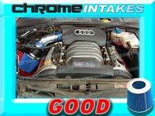 BLUE 02 03 04 05/2002 2003 2004 2005 AUDI A4 A6 A 4/6 3.0 3.0L V6 AIR INTAKE KIT