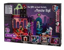Monster High High School Playset LARGE Doll Houses Mad Science Dance Hall Cafete