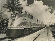 TRAIN INDUSTRY LOCOMOTIVE RR THE CHAMPION ATLANTIC COAST LINE 8X10 PHOTO REPRINT